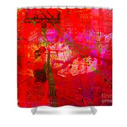 The City 16 Shower Curtain