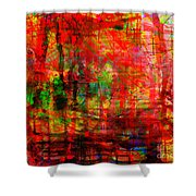 The City 17 Shower Curtain
