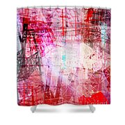 The City 18 Shower Curtain