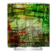 The City 19 Shower Curtain