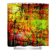 The City 20 Shower Curtain