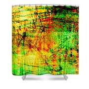 The City 21 Shower Curtain