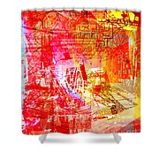 The City 22 Shower Curtain