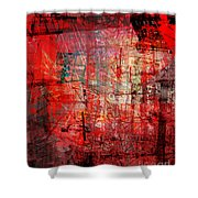 The City 24a Shower Curtain