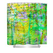The City 27 Shower Curtain