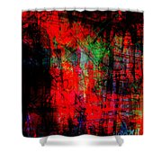The City 30a Shower Curtain