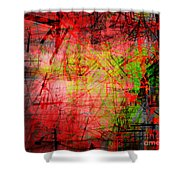 The City 32 Shower Curtain
