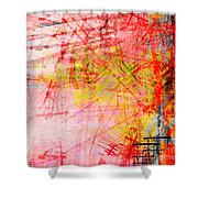 The City 33 Shower Curtain