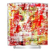 The City 37 Shower Curtain