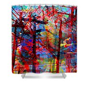 The City 43 Shower Curtain