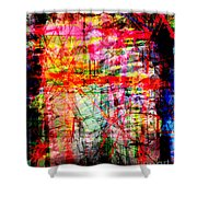 The City 45 Shower Curtain