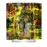 The City 9b Shower Curtain