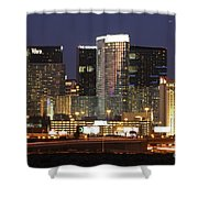 The City Center At Las Vegas Strip Shower Curtain