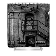 The City Is A Poem  Shower Curtain by Bob Orsillo