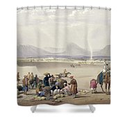 The City Of Candahar, From Sketches Shower Curtain