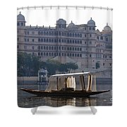 The City Palace, India Shower Curtain