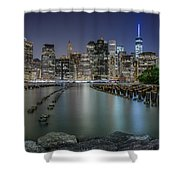 The City That Never Sleeps Shower Curtain