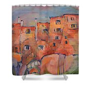 The City Walls Watch Shower Curtain