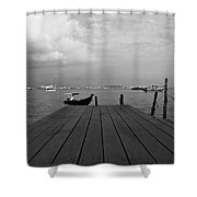 the Clan Jetty Shower Curtain