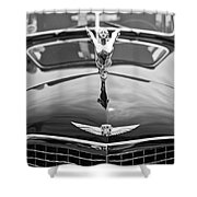 The Classic Cadillac Car At The Concours D Elegance. Shower Curtain