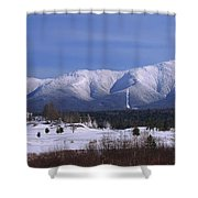 The Classic Mount Washington Hotel Shot Shower Curtain