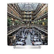 The Cleveland Arcade Shower Curtain