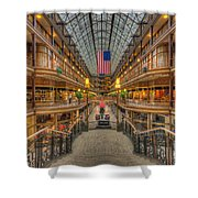The Cleveland Arcade V Shower Curtain