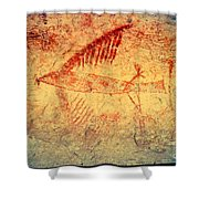 The Cliff Swallow Shower Curtain