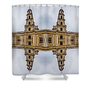 The Clones Of The Church Ruins Shower Curtain