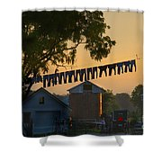 The Clothes Line Shower Curtain