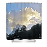 The Cloud Above Shower Curtain