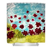 The Cloud Has Lifted Shower Curtain