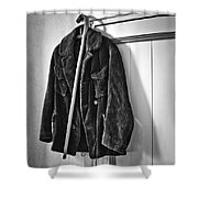 The Coat And The Cane Shower Curtain