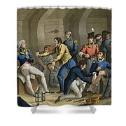The Cockpit, Battle Of The Nile Shower Curtain