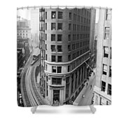 The Cocoa Exchange Building  Shower Curtain