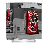 The Coke Machine Shower Curtain