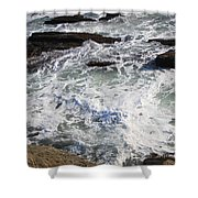 The Cold Atlantic 1 Shower Curtain