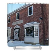 The Cold Spring Harbor Firehouse Shower Curtain