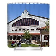 The Coliseum Fort Worth Texas Shower Curtain