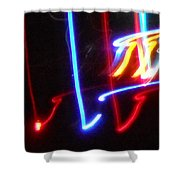 The Color Of Dance Shower Curtain