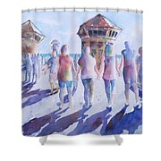 The Color Of Friendship Shower Curtain