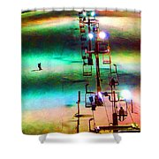 The Color  Of Fun  Shower Curtain