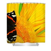 The Color Of Summer Shower Curtain