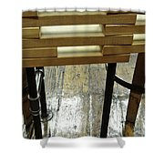 The Color Of Wood Shower Curtain