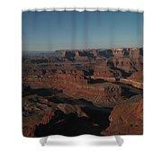 The Colorado River At Dead Horse State Park Shower Curtain