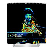 The Colorful Sound Of Bad Company 1977 Shower Curtain
