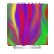 The Colors' Creation Shower Curtain