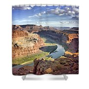 The Colors Of Canyonlands Shower Curtain