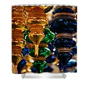 The Colors Of Christmas Shower Curtain