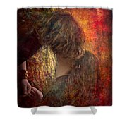 The Colors Of Love Shower Curtain
